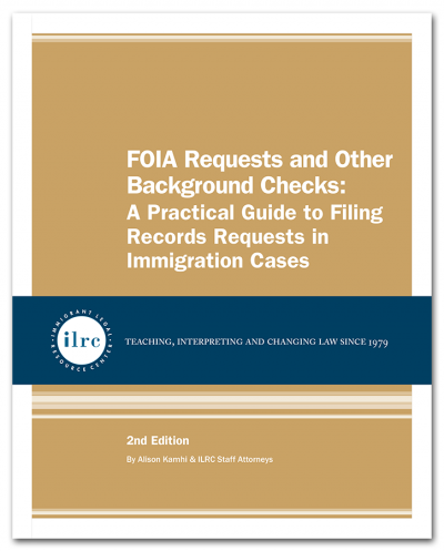 FOIA Requests and Other Background Checks, 2nd Edition, 2020
