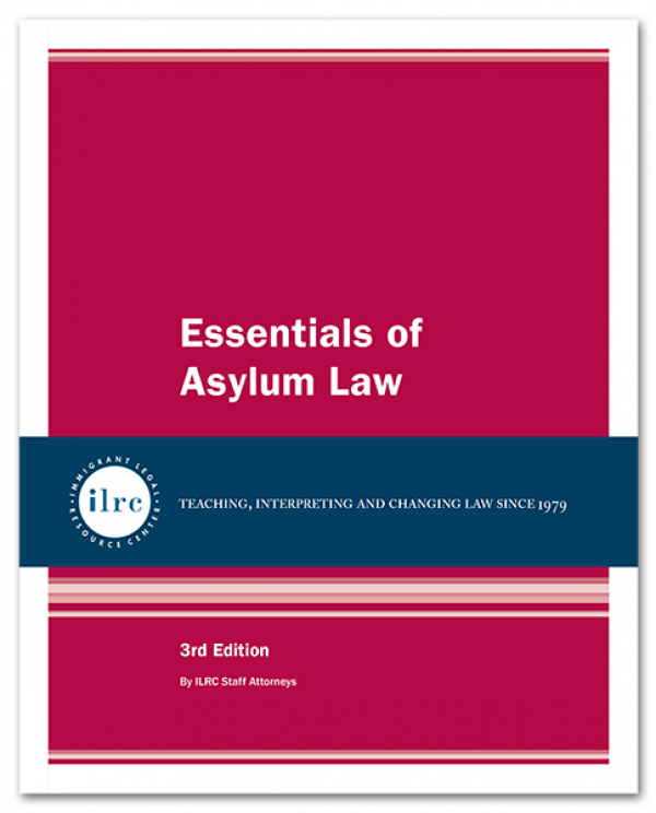 Essentials of Asylum Law, 3rd, 2015