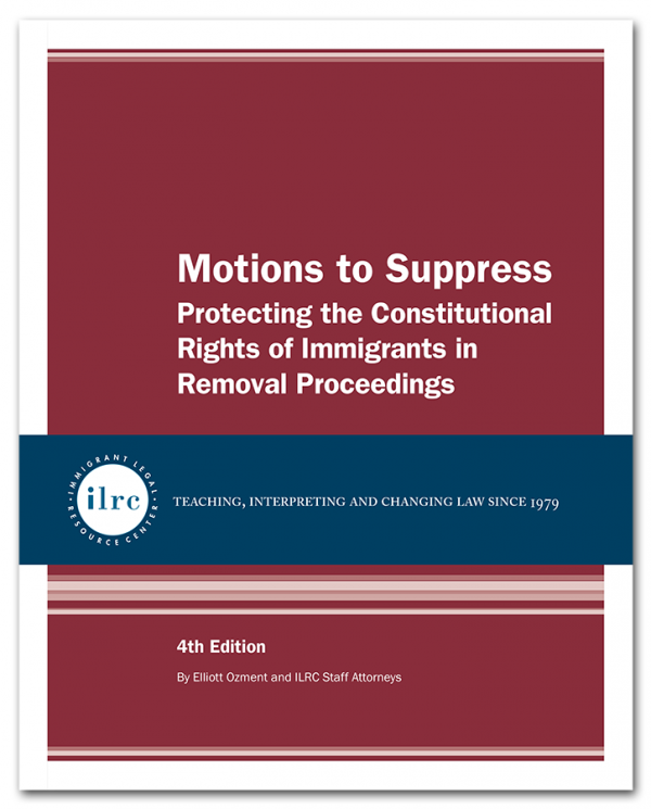 Motions to Suppress, 4th Edition, 2018
