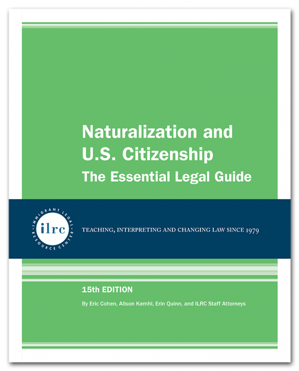Naturalization and U.S. Citizenship, 15th Ed., 2018