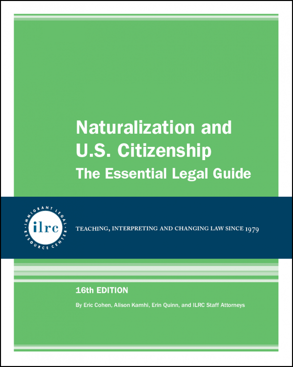 Naturalization and U.S. Citizenship, 16th Ed., 2020